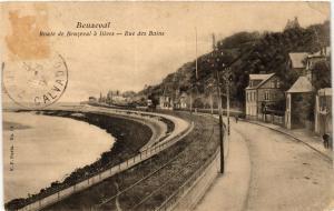 CPA BEUZEVAL - Route de BEUZEVAL a DIVES Rue des Bains (422288)