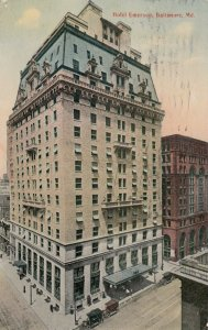 BALTIMORE, Maryland, 1914 ; Hotel Emerson