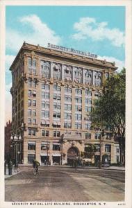 New York Binghamton Security Mutual Life Building Curteich