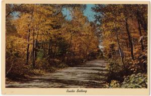 Rustic Setting, unused Postcard