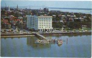 Hotel Fort Sumter, Foot of King Street, Charleston, South Carolina, SC, 19?1 Ch