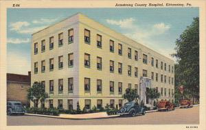 Pennsylvania Kittaning Armstrong County Hospital Curteich