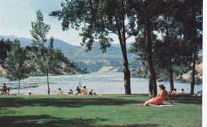 Gyro Park Overlooking The River, One Of The Beauty Spots In Trail, British Co...
