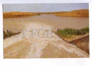 237377 USSR Turkmenistan Karakum canal Hanhowuz reservoir old postcard