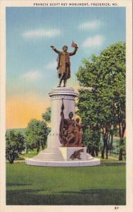 Francis Scott Key Monument Frederick Maryland