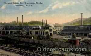 National Carbon Co. Washington Works Clarksburg, West Virginia WV USA Adverti...