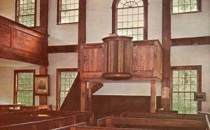 ME - Porter, Old Meeting House - Interior