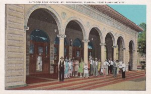 ST. PETERSBURG, Florida; The Sunshine City, Outdoor Post Office, 1910-20s