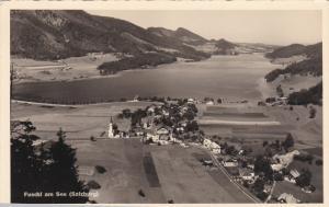RP, Bird's Eye View, FUSCHL AM SEE (Salzburg), Austria, 1920-1940s