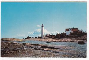 COVE ISLAND, Ontario, Canada, 50-60s ; LIGHTHOUSE