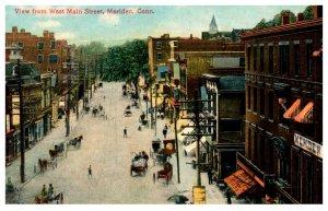 Connectiicut Meriden , West Main Street