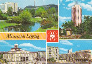 Germany Messestadt Leipzig Multi View