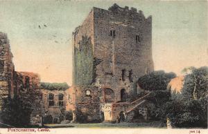 Portchester Castle Postcard