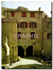 Modern Postcard The French Riviera Peille Old Scenic Sites Mont Agel Place