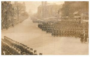 21883   President Taft  1909 Inauguration  Parade  100´s of Soldiers Marchin...