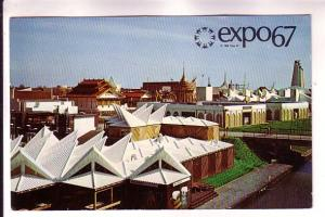 Africa and Near and Far East Pavilions, Expo 67, Monteal Quebec