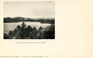 NH - Lake Sunapee. View from Soo-Nipi Park