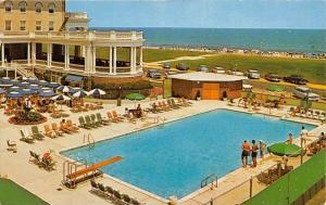 7734   NJ  Spring Lake Beach   The Monmouth Hotel poolside