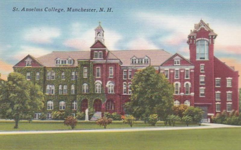 New Hampshire Manchester St Anselms College