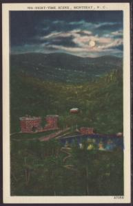 Night Time Scene,Montreat,NC