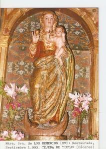 Postal 027193 : Ntra. Sra . De los Remedios (XVI) Restaurada, Tejeda de Tieta...
