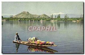 Postcard Modern Dal Lake Srinagar Kashmir