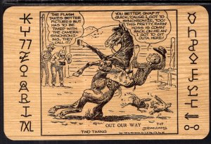 Two Timing J R Williams Western Comic