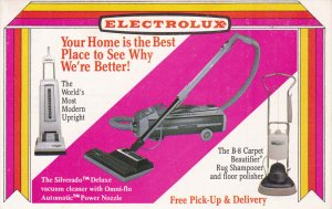 AD: ELECTROLUX Vacuum Cleaners , 50-60s #2
