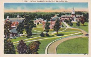 Johns Hopkins University Homewood Baltimore Maryland