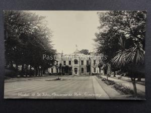 Channel Islands GUERNSEY Hostel of St.John, Sousmarez Park c1949 Old RP Postcard