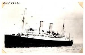 S.S. Montrose ,  Canadian Pacific Line , RPC