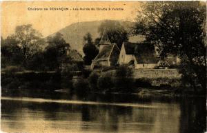 CPA Velotte - Environs de BESANCON - Les Bords du DOUBS a Velotte (486711)