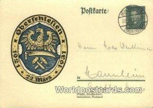 Oberlchlefien Germany 1931