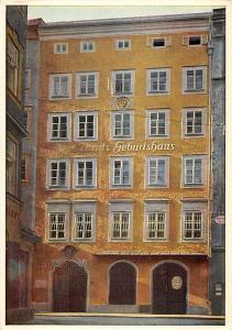 Mozarts Geburtshaus in Salzburg Mozartmuseum