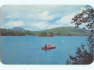 Pre-1980 LAKE SCENE Adirondacks - Sixth Lake - Inlet New York NY AE3869