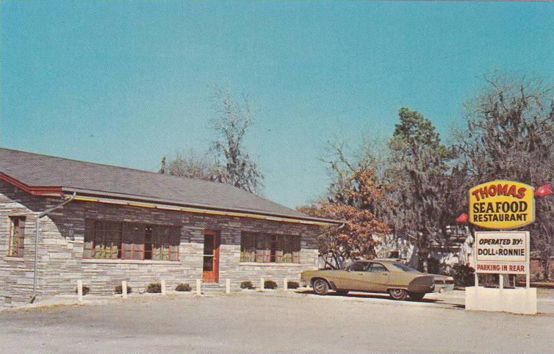 Thomas Seafood Restaurant Calabash North Carolina 40 60s