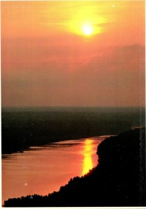 Mississippi Vicksburg National Military Park Fort Hill At Sunset