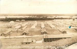FT RILEY KANSAS 1940s Whiteside Hospital Group RPPC real photo postcard 3448
