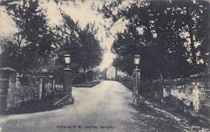 Bermuda Entrance to Mt Langton