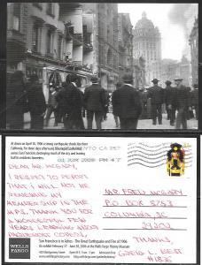 California, San Francisco, 1908 earthquake, used
