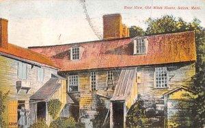 Rear View Salem, Massachusetts Postcard