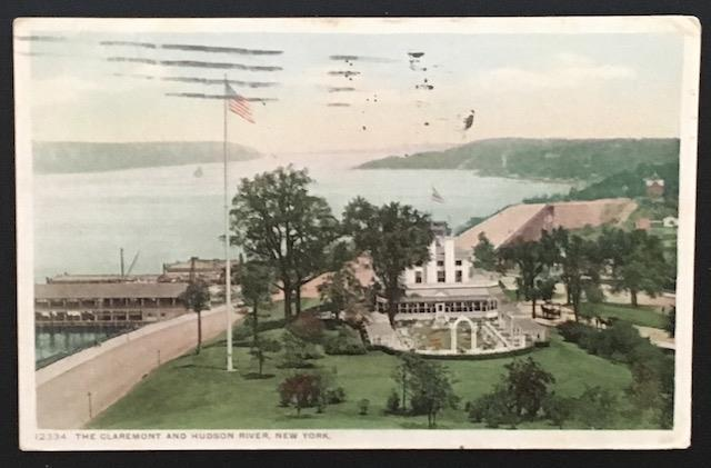 The Claremont and Hudson River New York 1913 Detroit Publ Co 12334