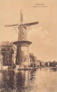 Windmill ; Rotterdam , Molen a/d Coolvest , Netherlands, 00-10s