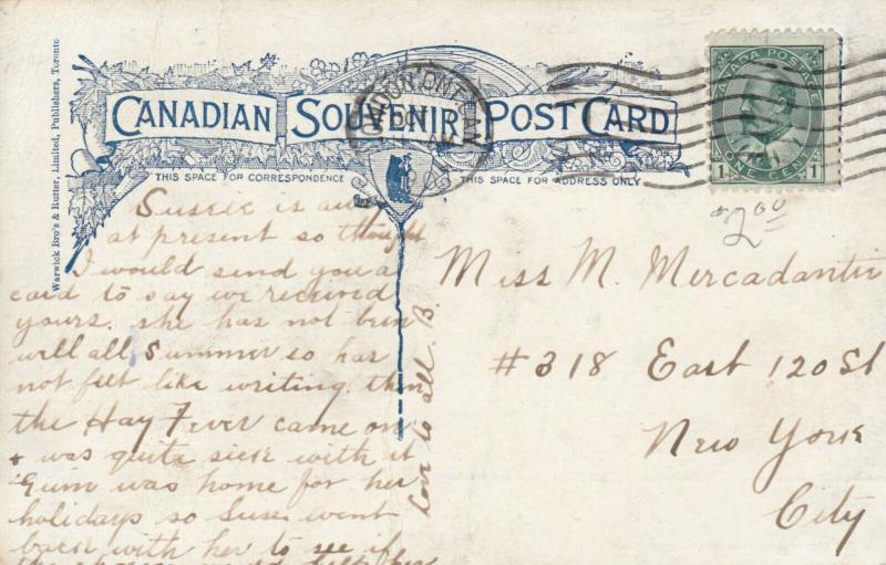LONDON , Ontario , 1907 ; Power House , Springbank Park
