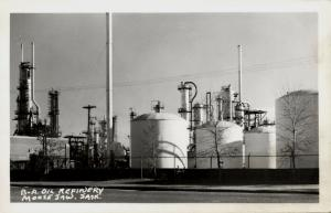 canada, MOOSE JAW, Sask., British American Oil Refinery (1950s) RPPC