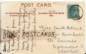 Genealogy Postcard - Killick - The Laurels - Egremont - Cheshire - Ref 9134A