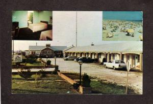 NJ Lido Motel Cape May New Jersey Postcard Walter C Krieger Owner
