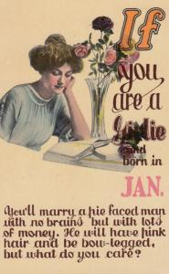 IF you were born in the Month of JAN. , 00-10s ; Flowers
