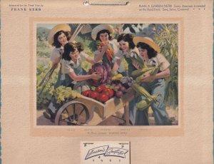 CALENDAR: CALLANDER, Ontario, Canada, 1945; The Dionne Quintuplets - HARVEST...