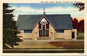 Wisconsin Sturgeon Bay Door County Museum Curteich